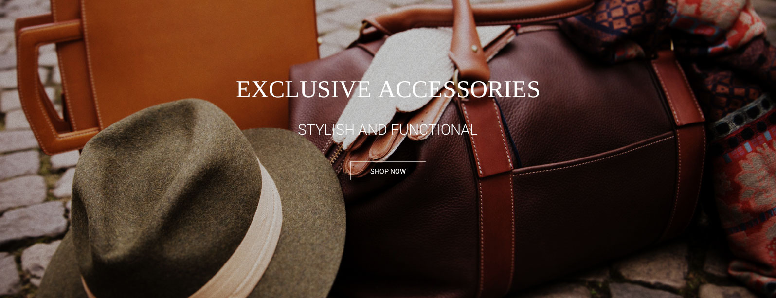 Banner to Accessories page