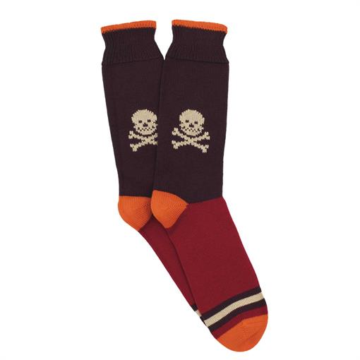 Corgi Sock big skull
