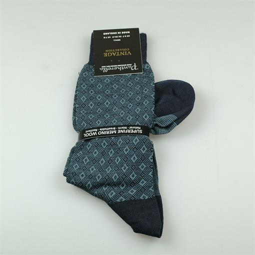 Pantherella Sock fancy daimond