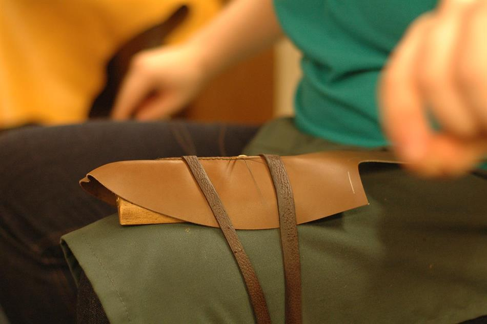 A recap of our hand-sewing event in collaboration with Edward Green