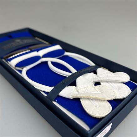 Albert Thurston Braces boxcloth royal