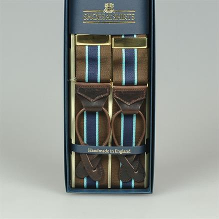 Albert Thurston Braces stripes