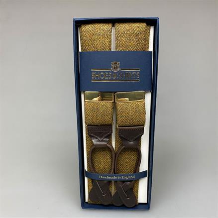 Albert Thurston Braces wool herringbone