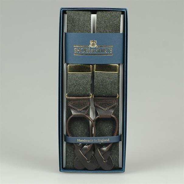 Albert Thurston Braces wool