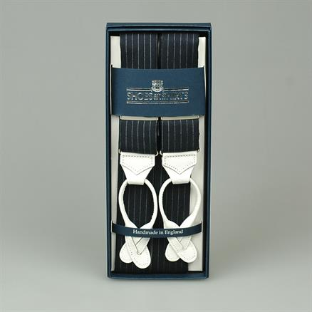 Albert Thurston Braces woven pinstripe