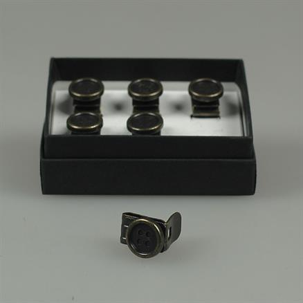 Albert Thurston Clip on buttons braces