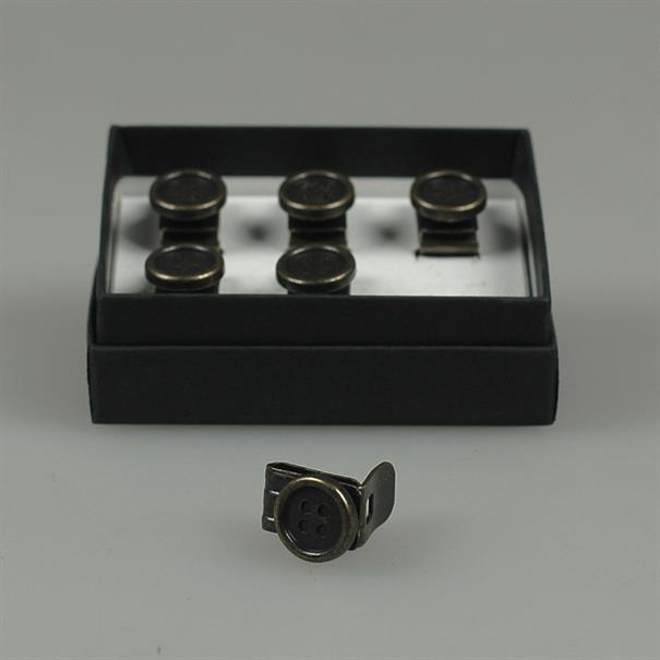 Albert Thurston Clip on buttons braces