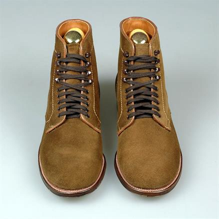 Alden Blucher boot suede