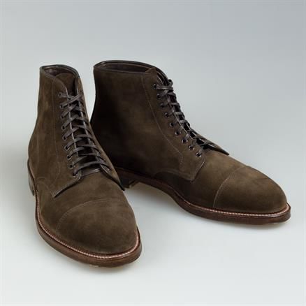 Alden Navy boot suede