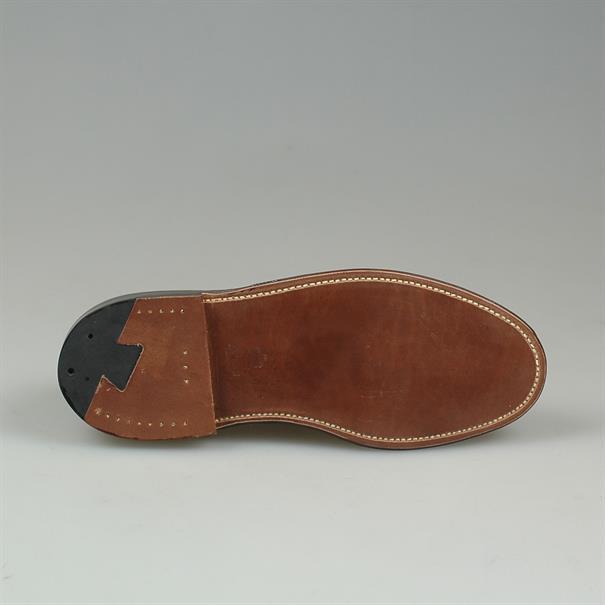 Alden Plain toe suede