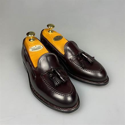 Alden Tassel loafer cordavan
