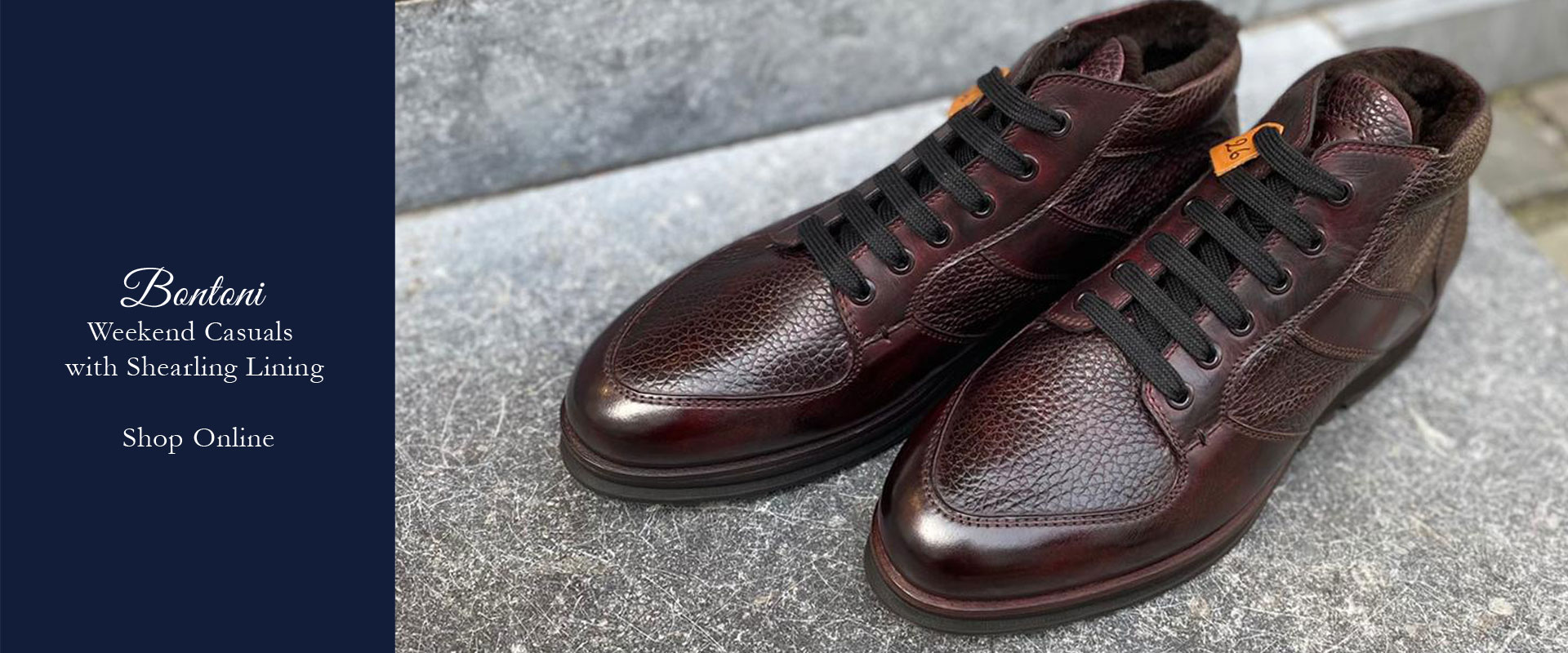 Bontoni sneaker fw21