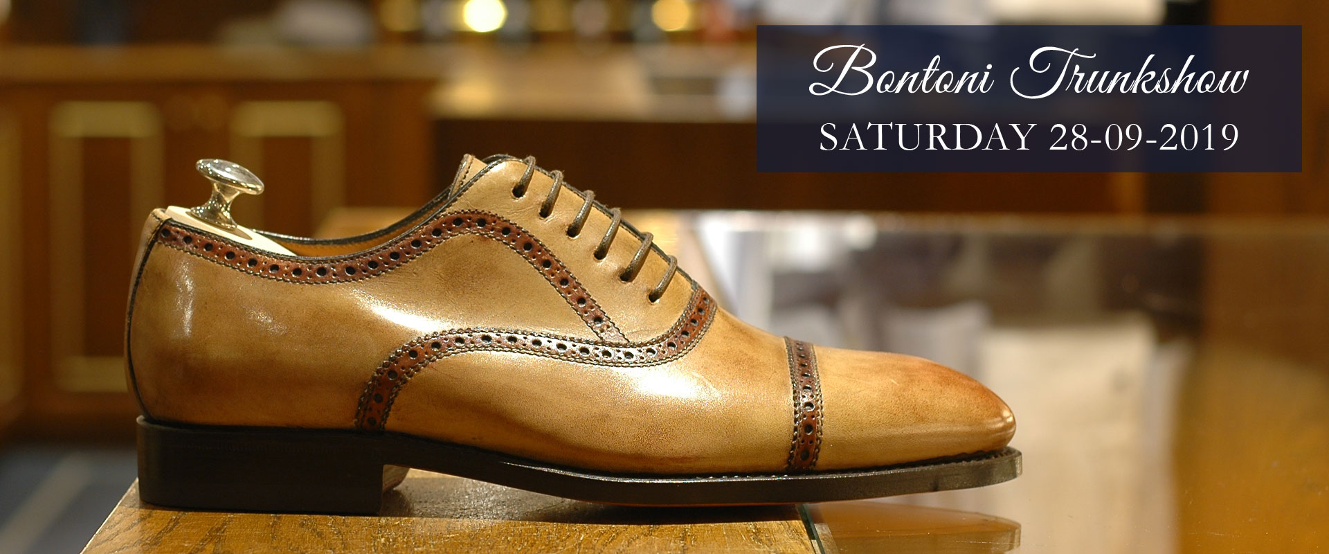 Bontoni Trunkshow
