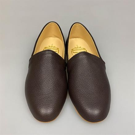 Bowhill & Elliott Deerskin leather slipper