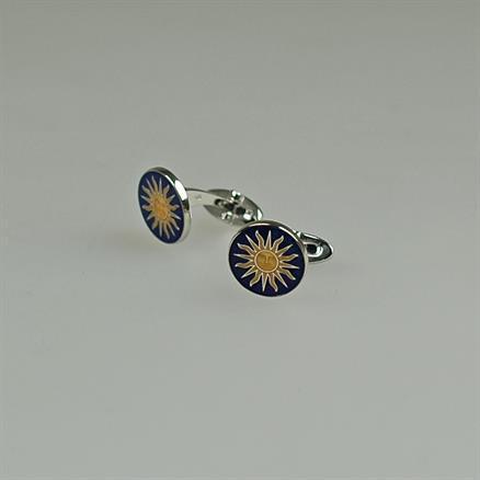 Codis Maya Silver sun link blue/amber