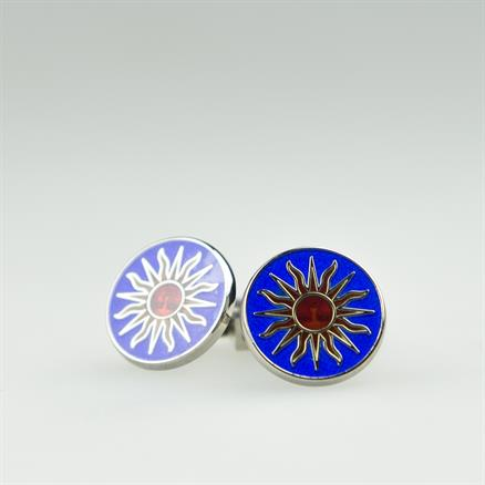 Codis Maya Silver sun link blue/red