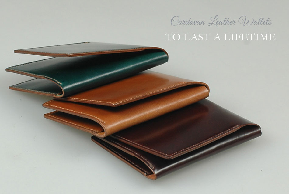 Cordovan Wallets