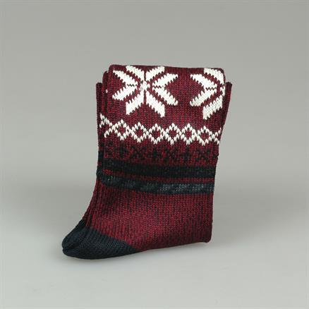 Corgi Sock fairlisle wool