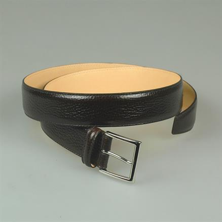 Crockett & Jones Belt grain