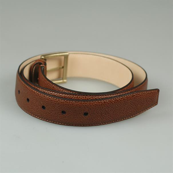 Crockett & Jones Belt tan scotch grain