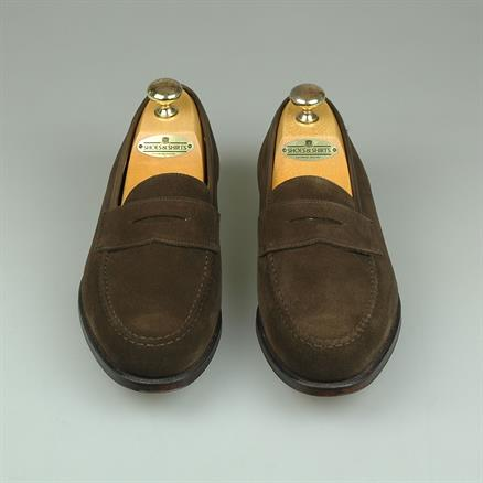 Crockett & Jones Boston suede