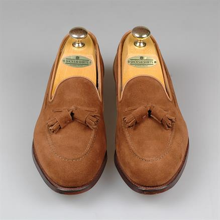 Crockett & Jones Cavendish suede 2