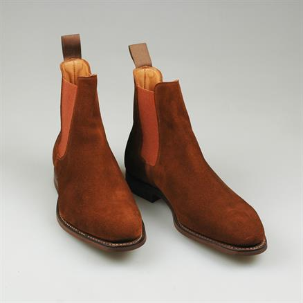 Crockett & Jones Chelsea boot bonnie suede
