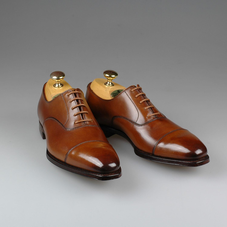 Oxford Harewood 2 leather brown Crockett & Jones Best Authentic pFgD3gH