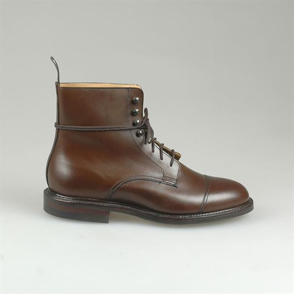 Crockett & Jones Jane burnished calf