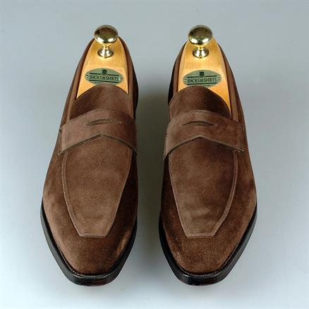 Crockett & Jones Merton suede