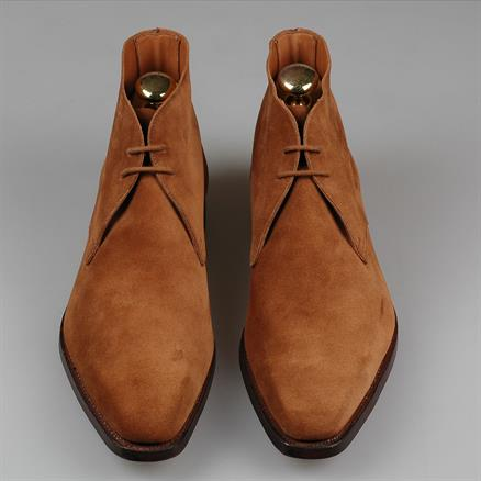 Crockett & Jones Milton polo suede