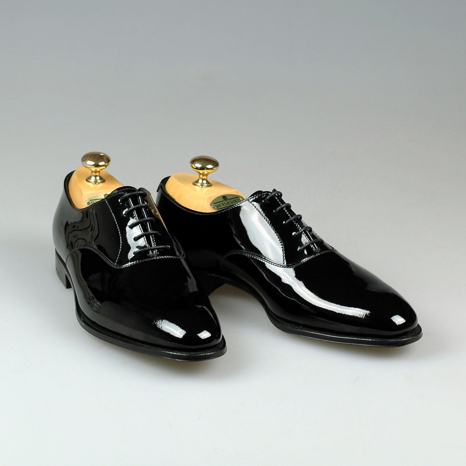 Crockett And Jones Patent Leather Shoes