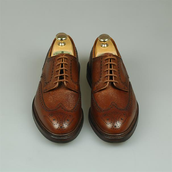 Crockett & Jones Pembroke tan grain