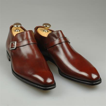 Crockett & Jones Portman chestnut antique