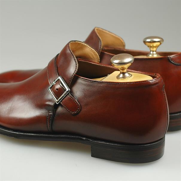 Crockett & Jones Portman chestnut antique