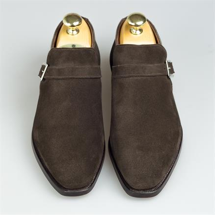Crockett & Jones Portman espresso suede