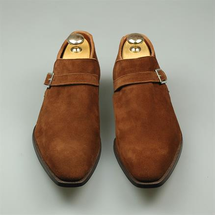 Crockett & Jones Portman polo suede