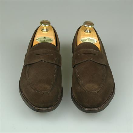 Crockett & Jones Sydney loafer suede