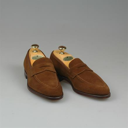 Crockett & Jones Sydney snuff suede