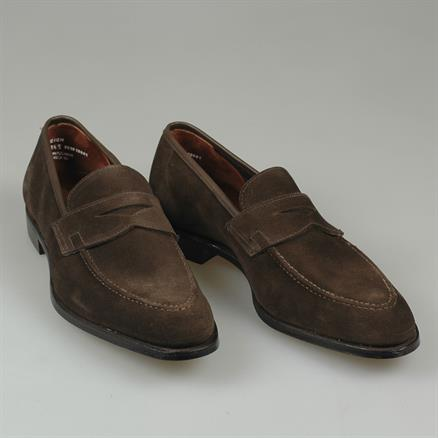 Crockett & Jones Teign unlined suede