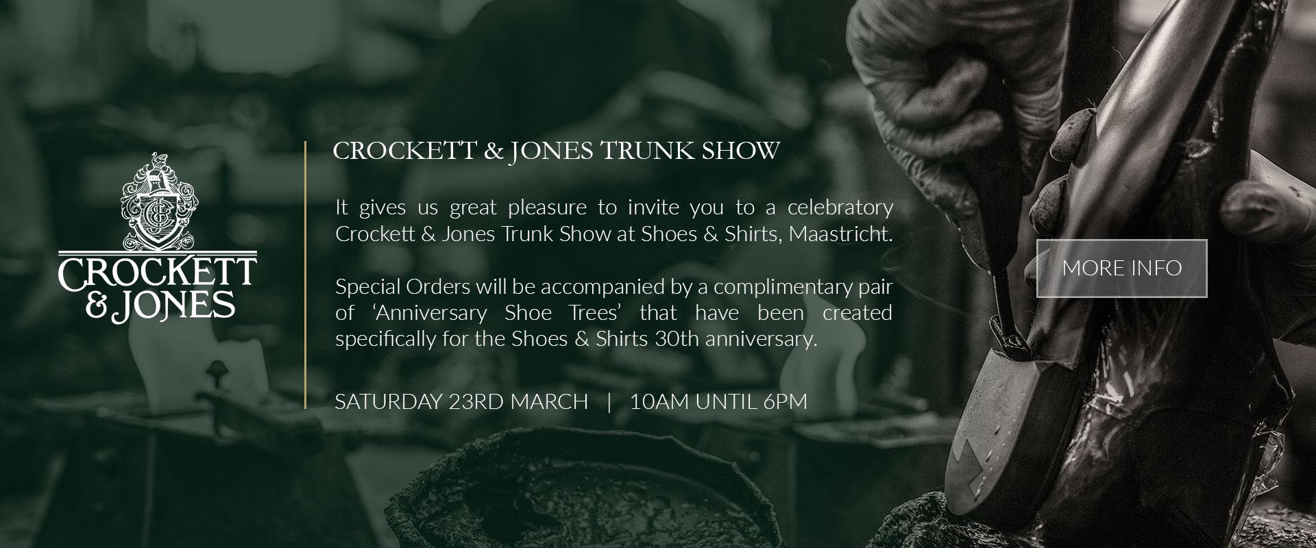 Crockett & Jones Trunkshow