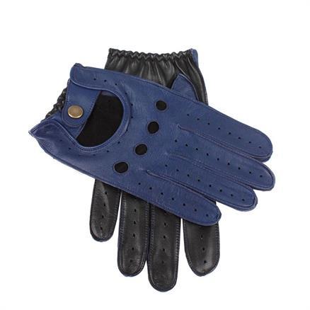 Dents Driving glove royal blue