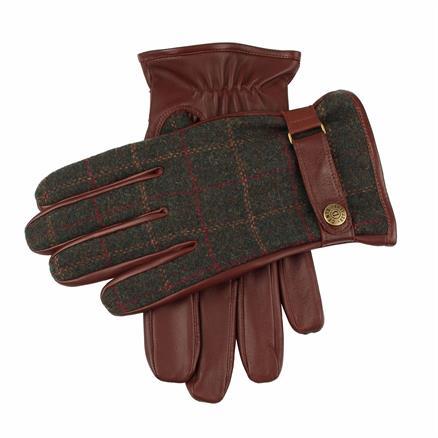 Dents Glove leather/tweed