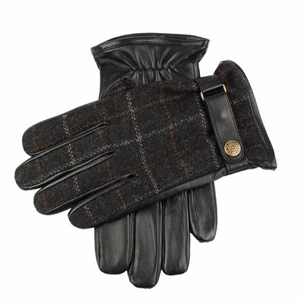 Dents Glove leather/tweed
