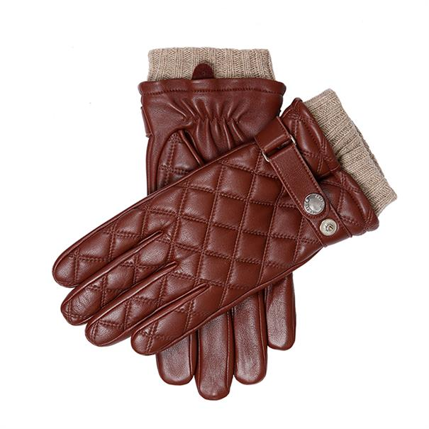 Dents Quilted glove wool lined