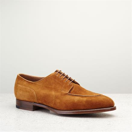 Edward Green Dover unlined tobacco