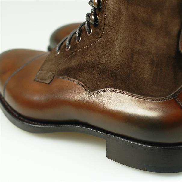 Edward Green Galway leather/suede