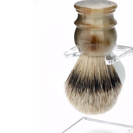 Edwin Jagger Shaving brush l silvertip badg
