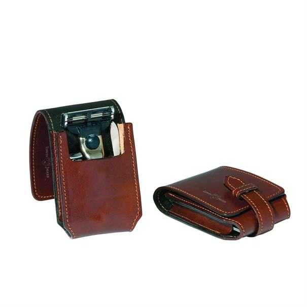 Edwin Jagger Travel case mach 3 & nail clip