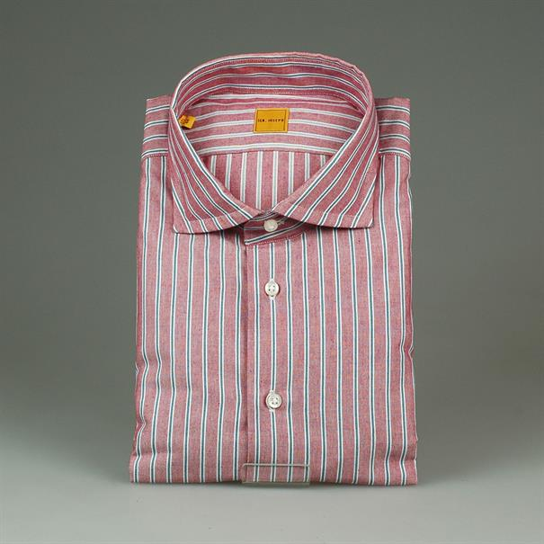 IGN. Joseph Stripe slim fit single cuff